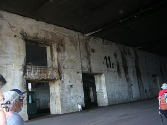 ancienne base de sous-marins de la dernière guerre