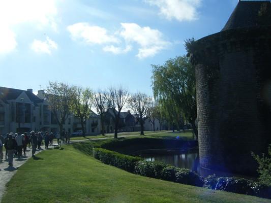 Jour 3: les remparts de Guérande