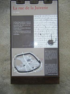 il y avait des protestants, et aussi des juifs à Guérande