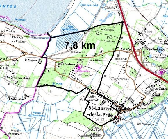 Le 10 Mai 2012  7,8 Km.