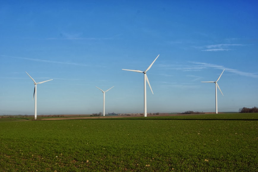 majestueuses éoliennes
