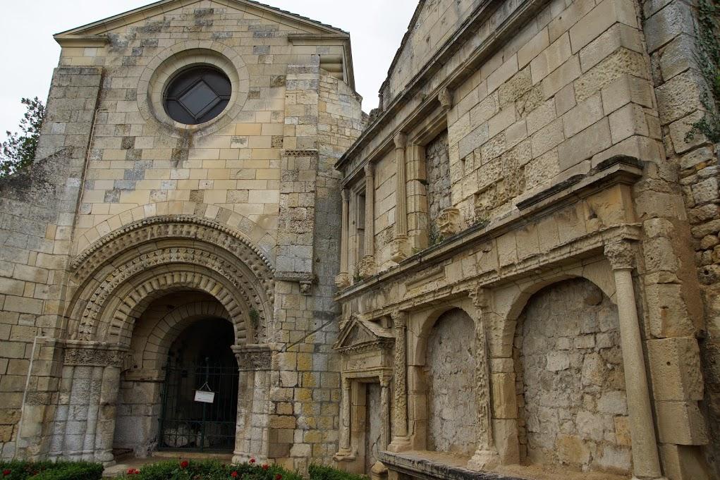 entrée de la chapelle du château