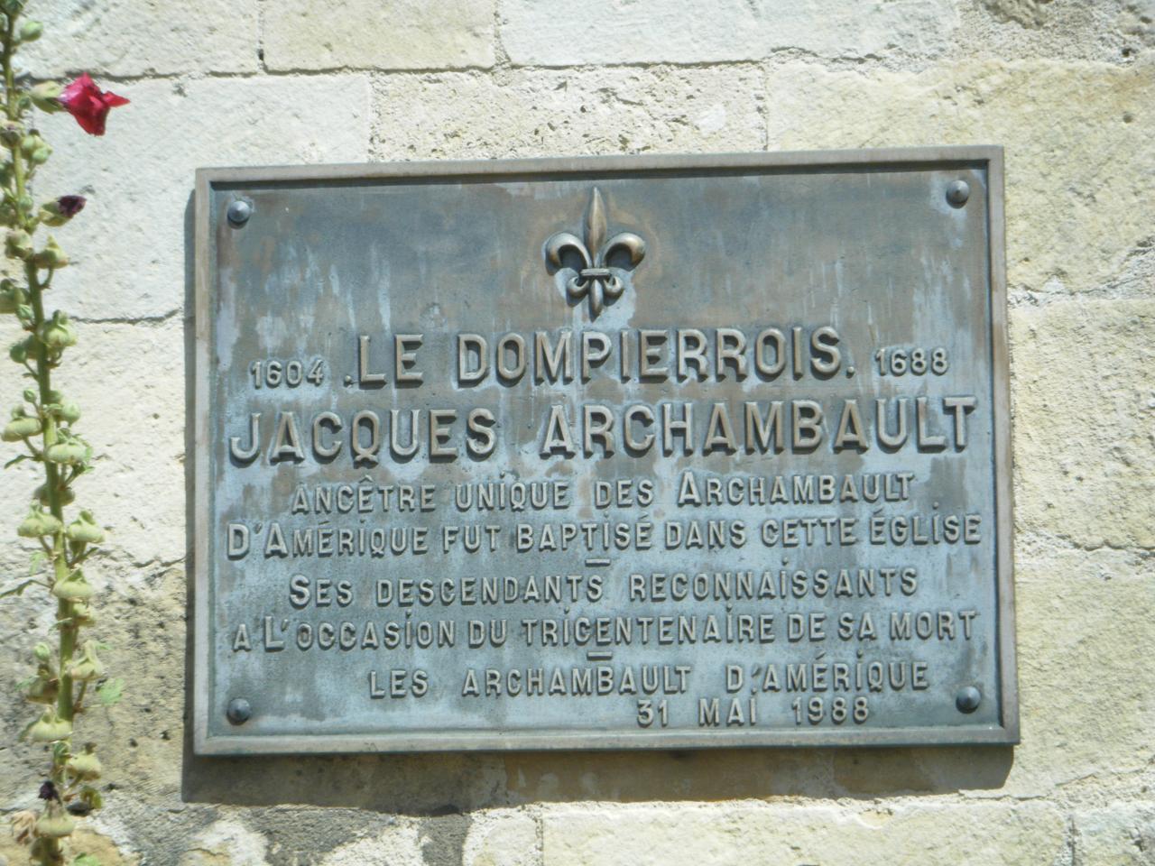 Bravo, Mr Archambault !