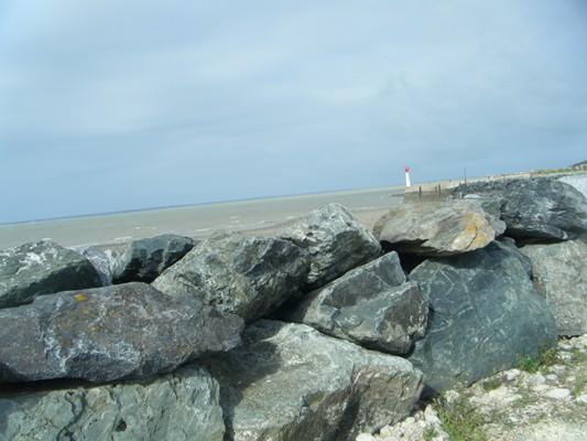 plage et rochers...