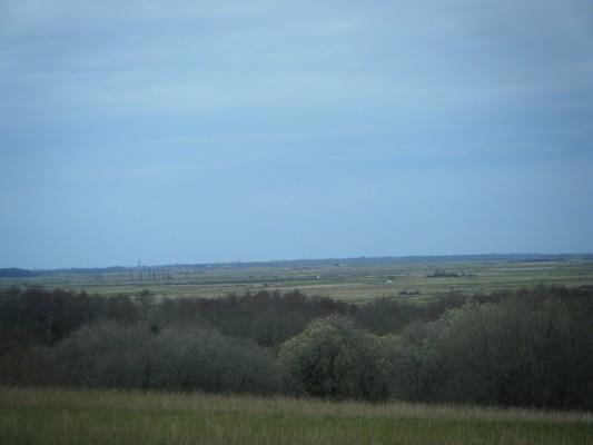 superbe vue sur le marais