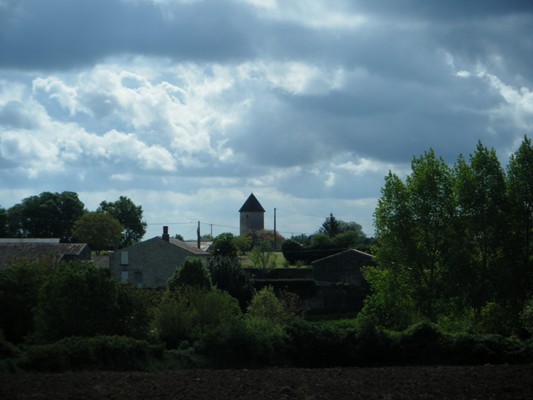 le clocher du village...
