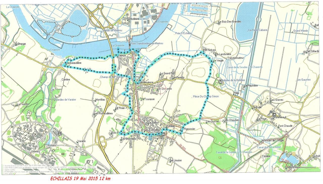 Echillais 19-05-15 12 km