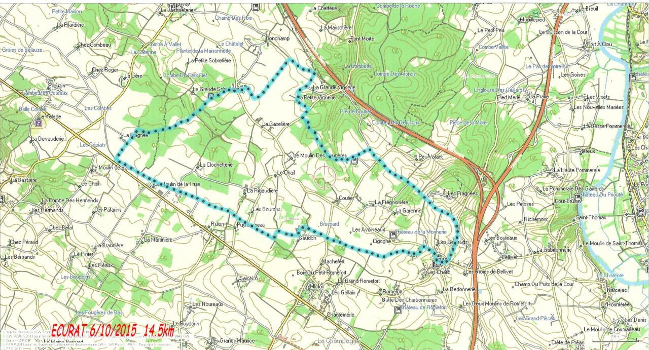 ECURAT 06-10-15  14.5 km