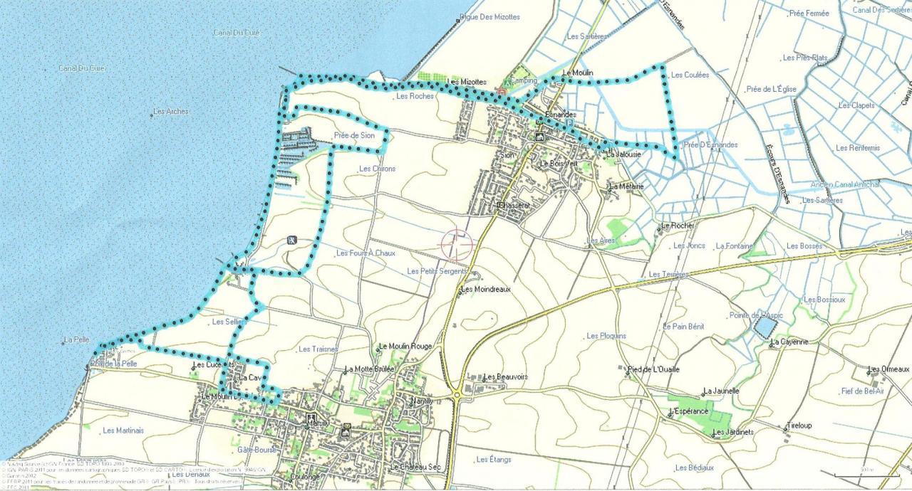 Esnandes  12 km 11-01-15