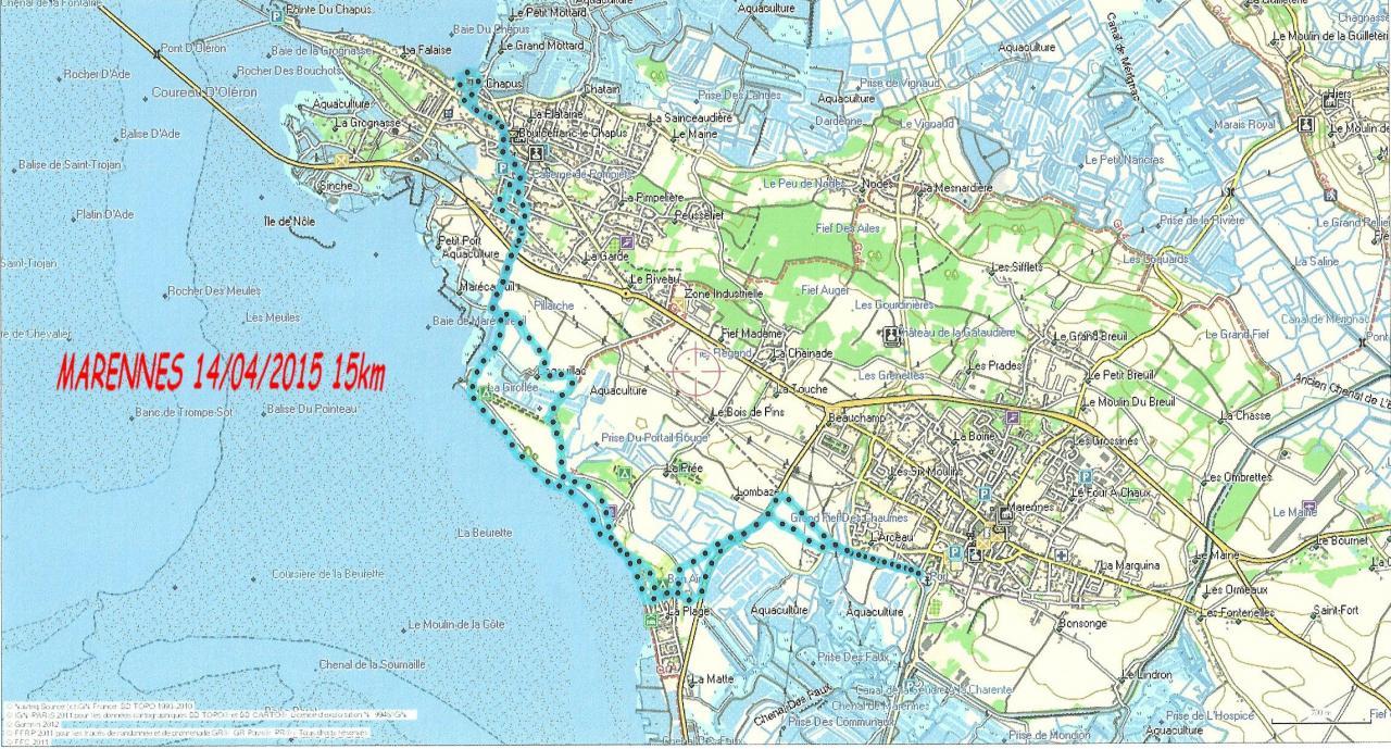 Marennes 14-04-15  15 km