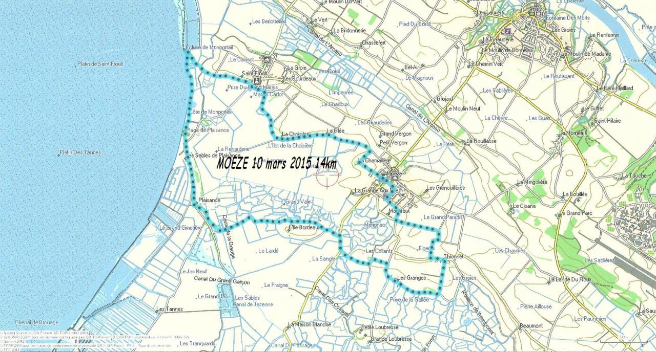 Moeze-10 mars 2015 14km
