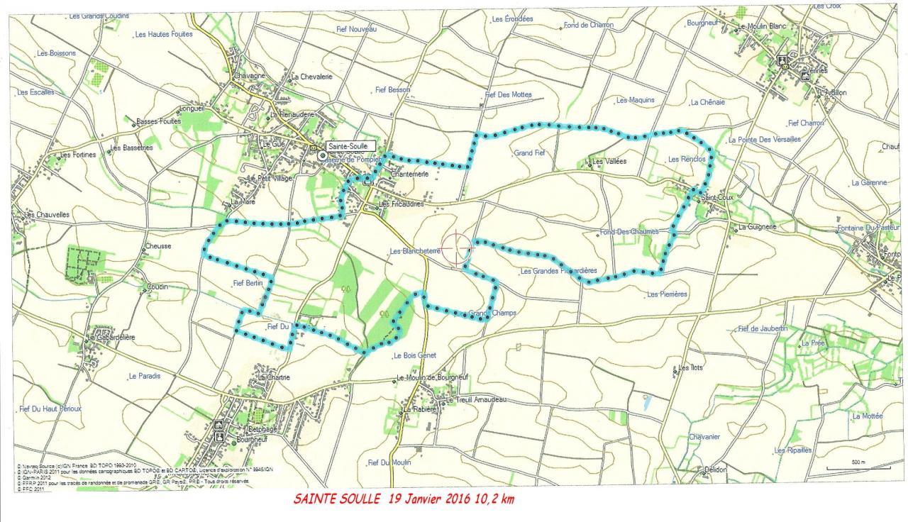 Sainte-Soulle-19-01-16 10.2 km