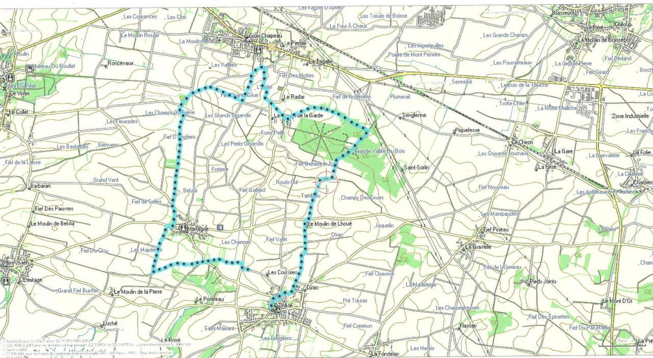 Thaire 06-01-2015   12 km