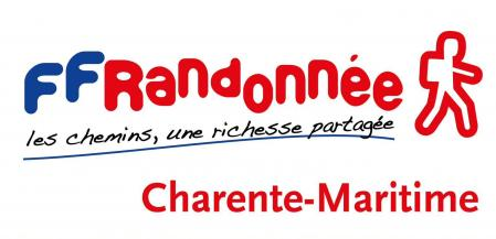 Logo couleur cd17 randonnee